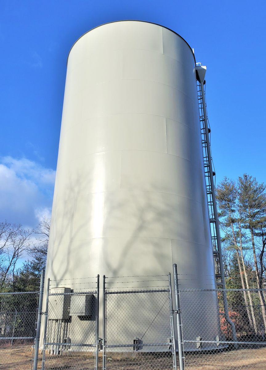 Granite hill tank-    400,000 Gallon- 1987