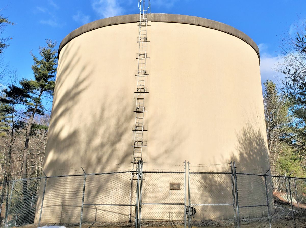 white hall Rd tank-   1,000,000 Gallon - 1999